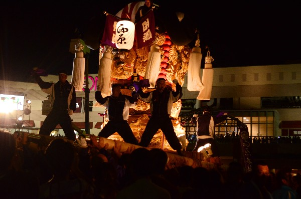 平成24年新居浜太鼓祭り 川西地区 イオンモール新居浜 西原太鼓台