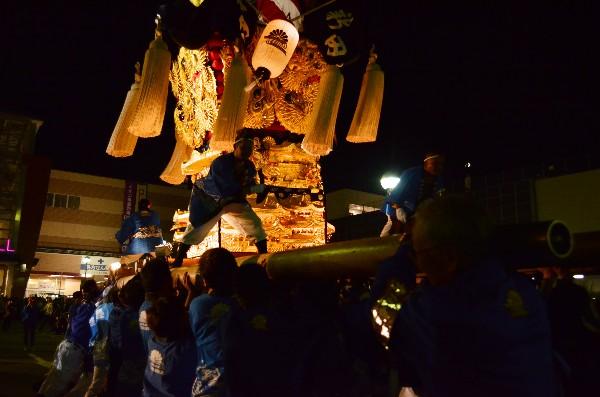 平成24年新居浜太鼓祭り 川西地区 イオンモール新居浜 新田太鼓台