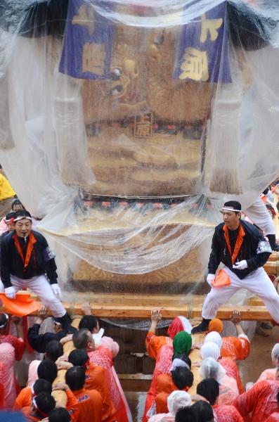 新居浜太鼓祭り2012年 山根グラウンド 上原