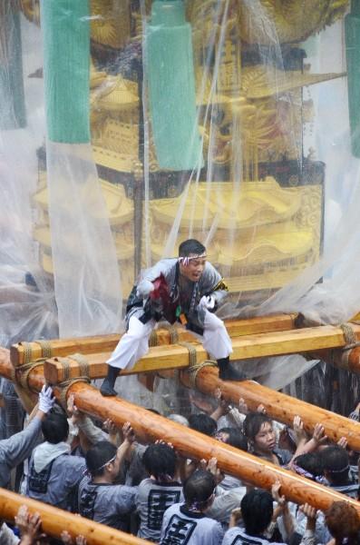 新居浜太鼓祭り2012年 山根グラウンド 土橋