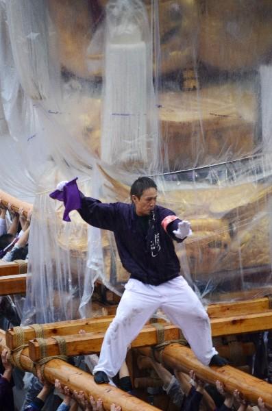 新居浜太鼓祭り2012年 山根グラウンド 萩生東