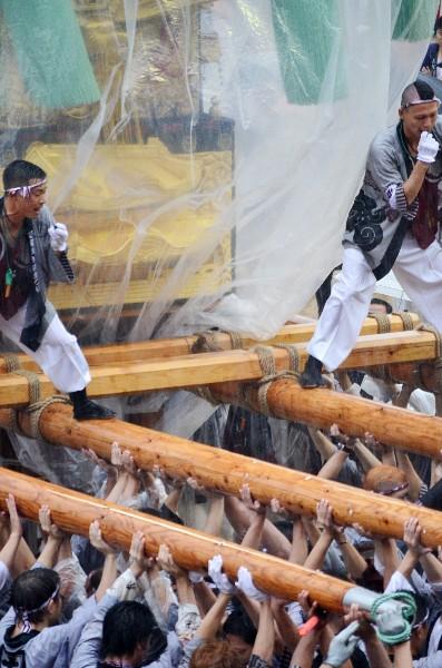 新居浜太鼓祭り2012年 山根グラウンド 土橋太鼓台