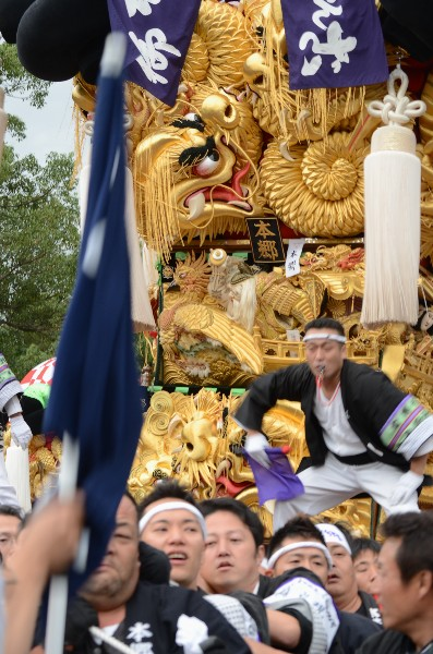新居浜太鼓祭 八旗神社 川東西部地区 本郷太鼓台
