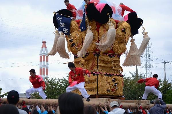平成24年新居浜太鼓祭り 大江浜 久保田太鼓台