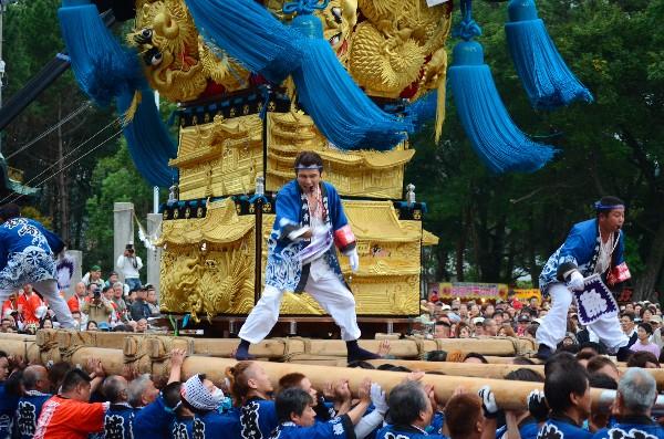 新居浜太鼓祭り2012年 八旗神社 楠崎太鼓台