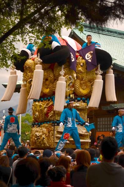 平成24年新居浜太鼓祭り 八旗神社かきくらべ 川東西部地区 町太鼓台