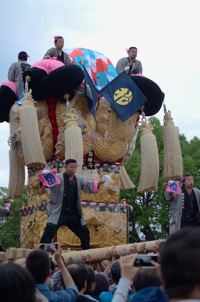 平成24年新居浜太鼓祭り 八旗神社かきくらべ 松神子太鼓台
