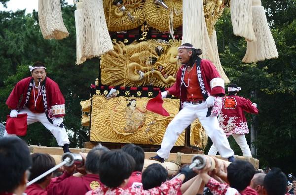 2012年新居浜太鼓祭り 八旗神社かきくらべ 松乃木太鼓台