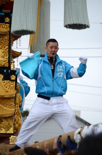 平成24年新居浜太鼓祭り 川西地区 中須賀海岸 江口太鼓台