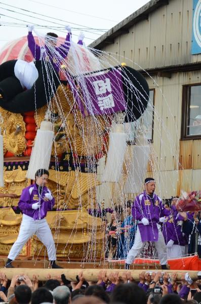 平成24年新居浜太鼓祭り 川西地区 中須賀海岸 西原太鼓台