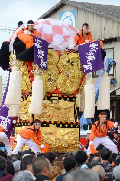 平成24年新居浜太鼓祭り 川西地区 中須賀海岸 新須賀太鼓台