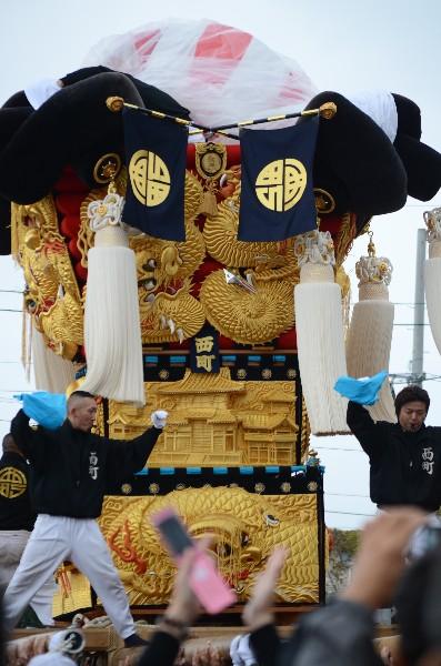 平成24年新居浜太鼓祭り 川西地区 中須賀海岸 西町太鼓台