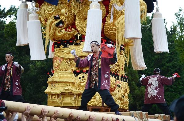 新居浜太鼓祭り 八旗神社かきくらべ 下郷太鼓台
