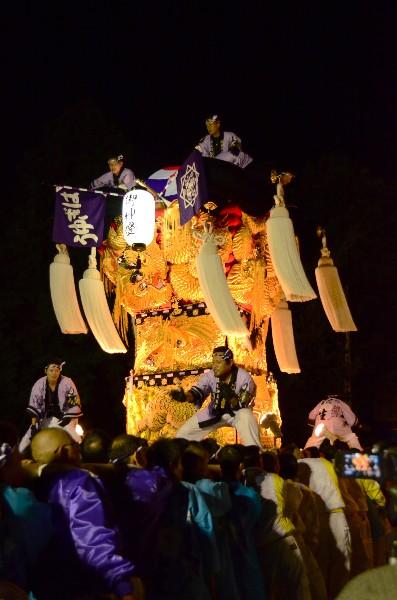 2014年新居浜太鼓祭り 萩岡神社 萩生西太鼓台