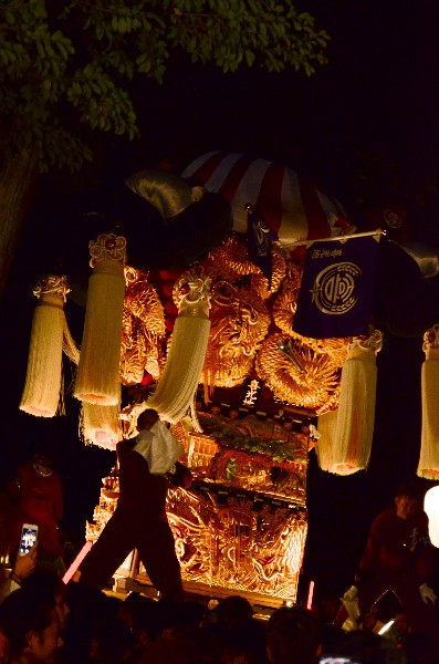 2014年新居浜太鼓祭り 内宮神社 喜光地太鼓台