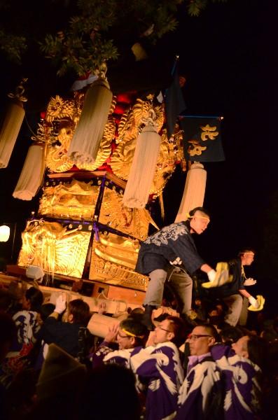 2014年新居浜太鼓祭り 内宮神社 北内太鼓台