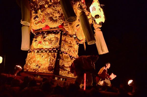 2014年新居浜太鼓祭り 内宮神社 中筋太鼓台