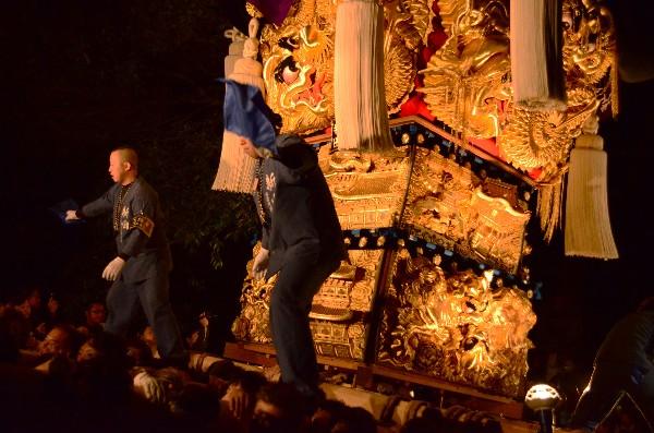 2014年新居浜太鼓祭り 内宮神社 新田太鼓台