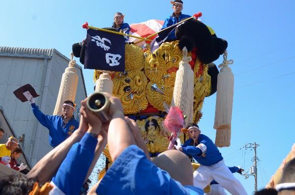 2014年新居浜太鼓祭り 川西地区 新田太鼓台