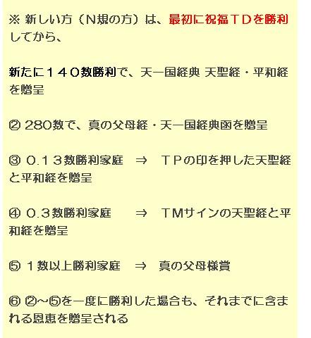 【日本統一教会発令文書 2013年9月11日作成】 2