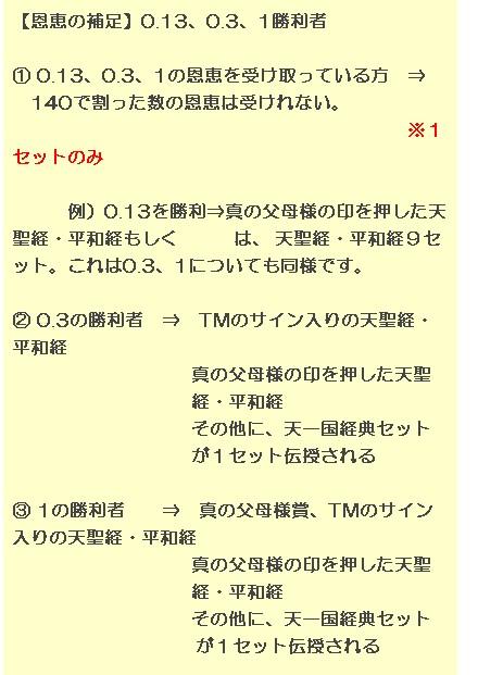 【日本統一教会発令文書 2013年9月11日作成】 4