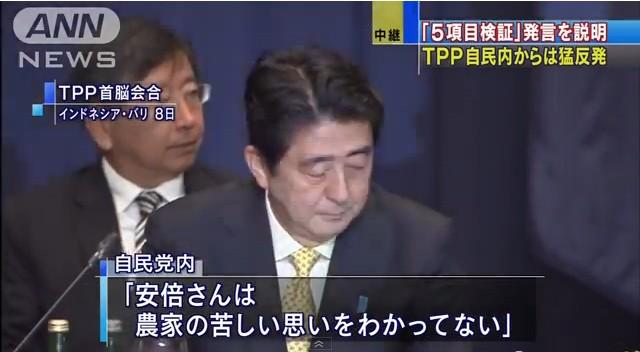 TPP交渉「聖域を守れ」自民党内からは猛反発5