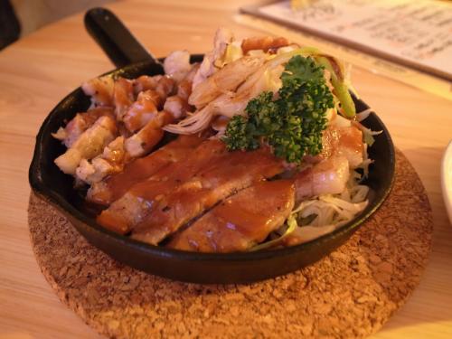 鹿児島三味豚のトンテキ