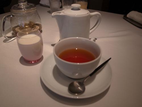 友達の紅茶