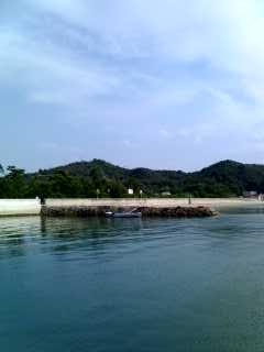 白砂青松の島