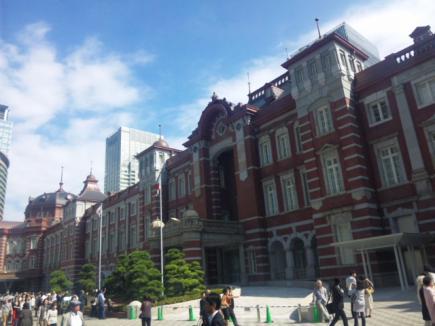 東京駅駅舎完成