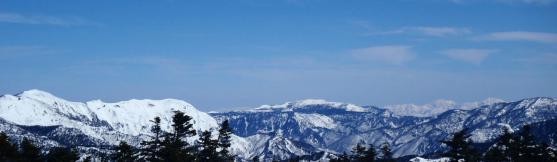 9.渋峠から岩菅山、苗場山、巻機山