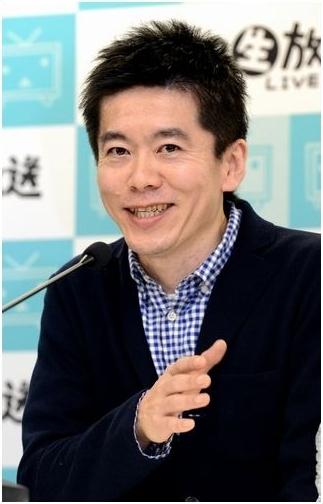 堀江仮釈放