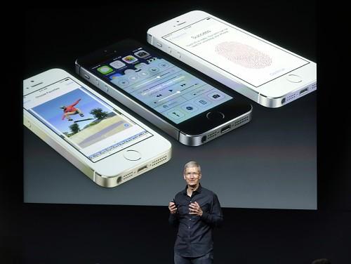 Phone5s発表