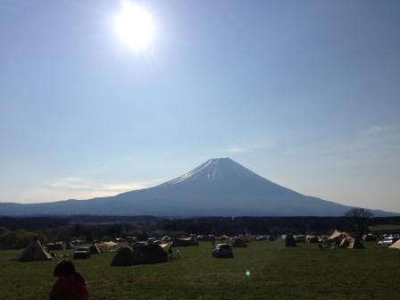 ふもっとぱらから見た富士山