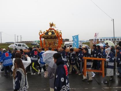 秋祭り閖上②