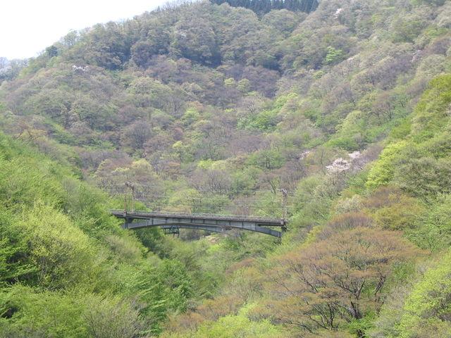 碓氷峠古い鉄橋