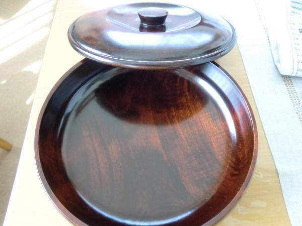 木地師菓子鉢中