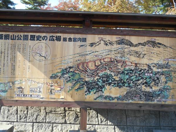 富士見城案内図