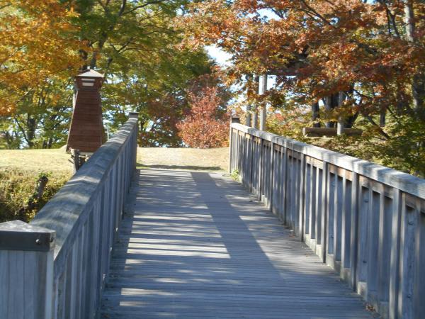 富士見城の橋