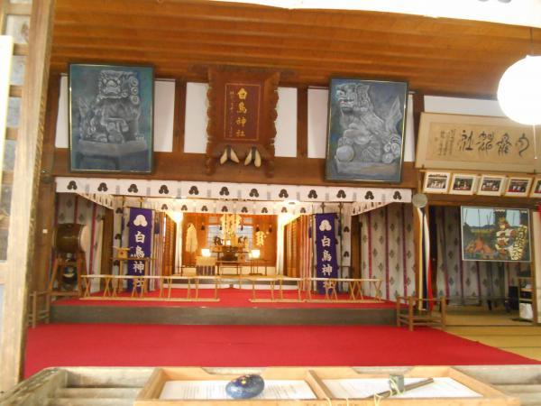 白鳥神社内部