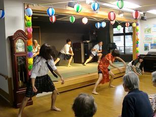 本館夏祭り08226
