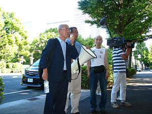 於2011/7/12東京高裁前