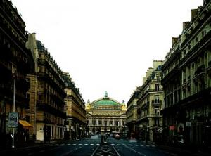 写真-パリ-オペラ座の朝