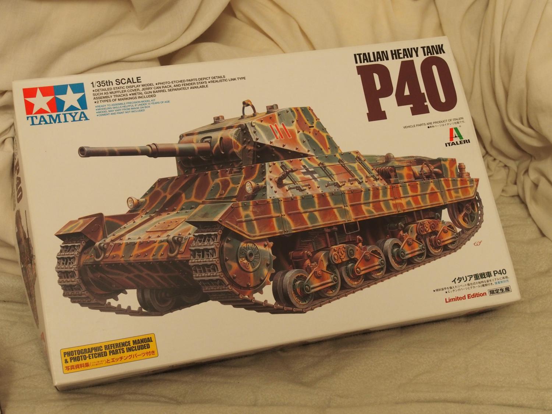 イタリア重戦車P40