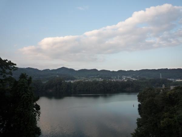 城山ダム湖