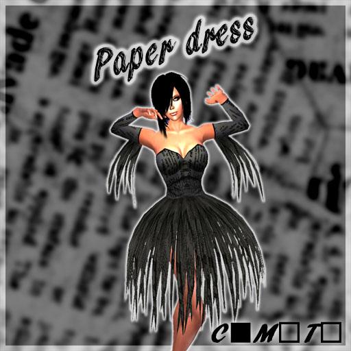 Paper dress LB