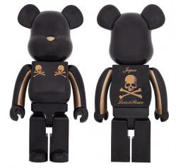 mastermind JAPAN GOLD STRIPE BE@RBRICK 1000%
