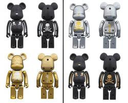 BE@RBRICK Chogokin mastermind JAPAN 2pack