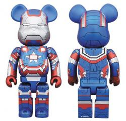 BE@RBRICK IRON PATRIOT 400%