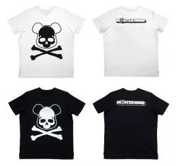 BE@RBRICK x mastermind JAPAN COLLABORATION TEE – FACE